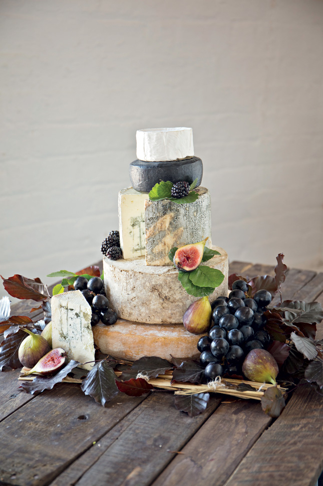 Cheese wedding cake by Sheridans Cheesemongers