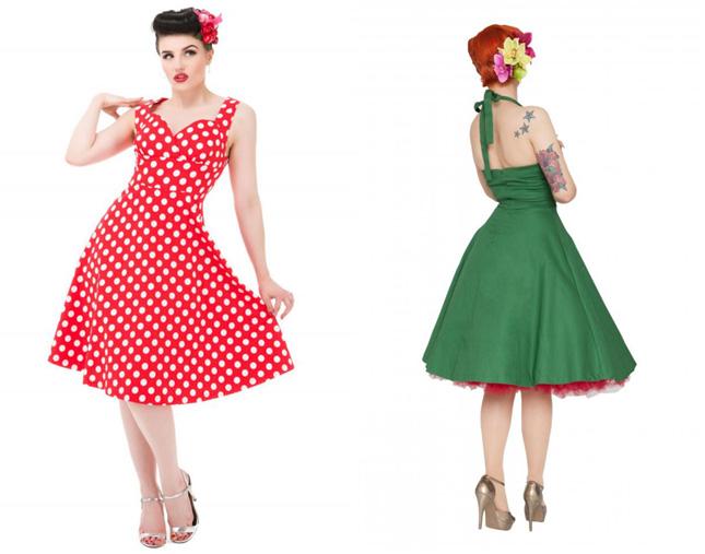 Rockabilly bridesmaids dresses ireland