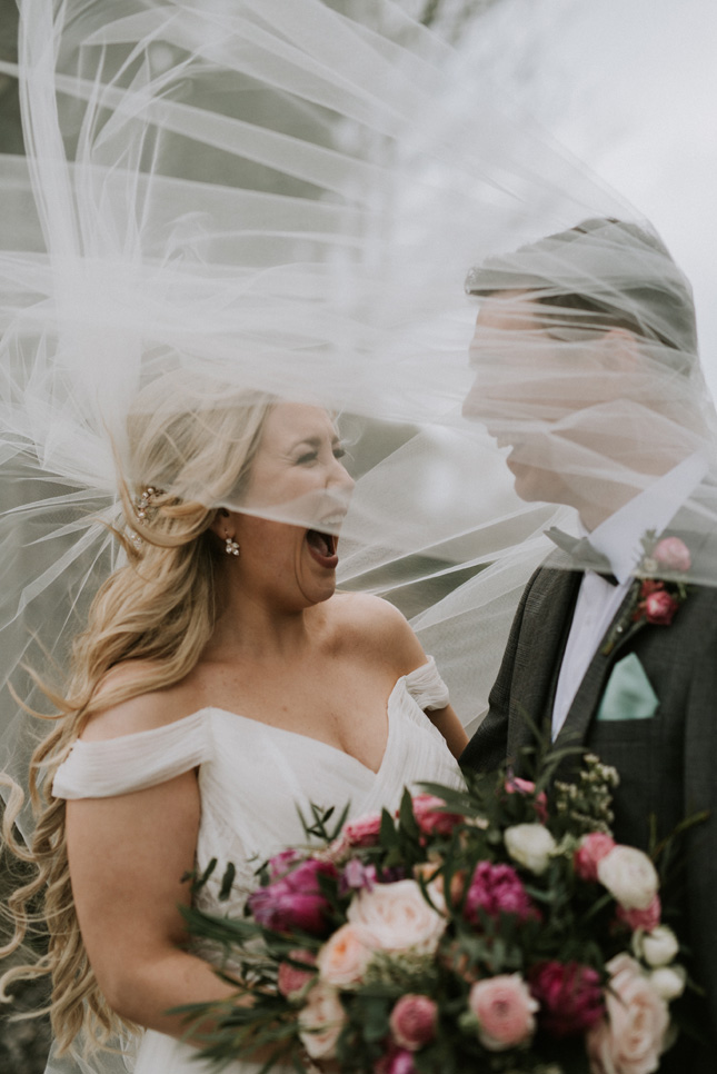 40a4d12b25c Aisling Designs veil via Denise and Darren s intimate Langton House Hotel  wedding