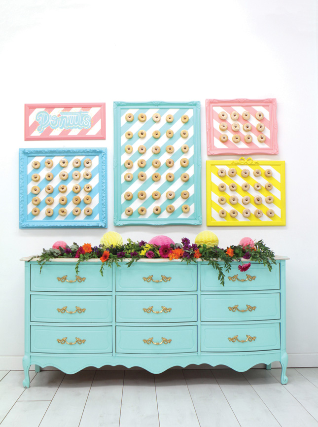 diy donut wall joanne condon