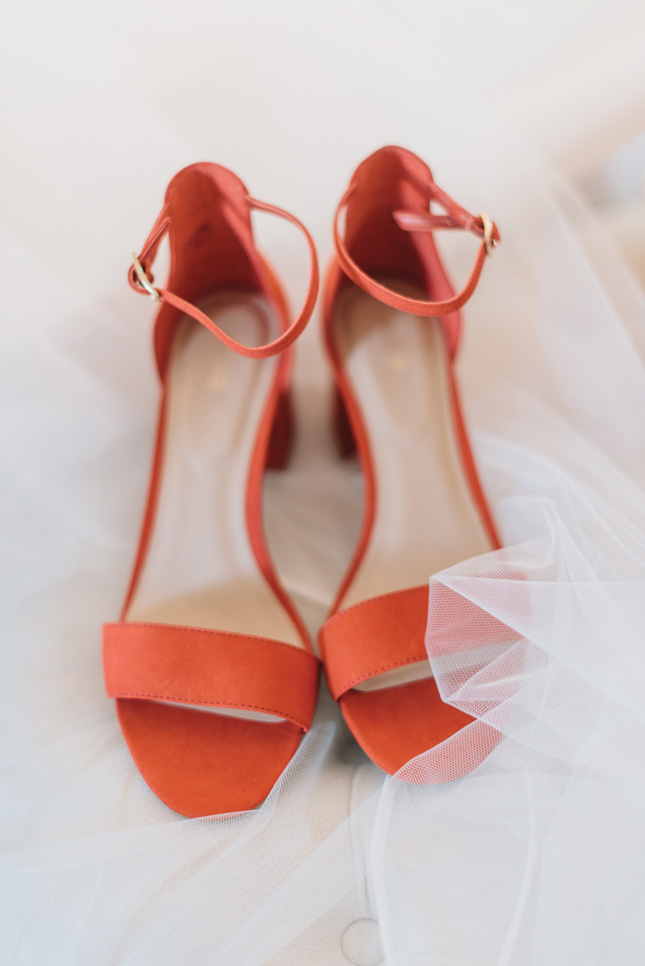 where to shop for coloured wedding shoes