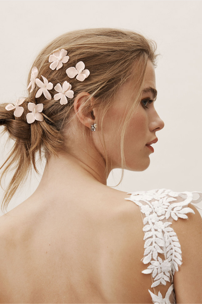 clips for hair wedding
