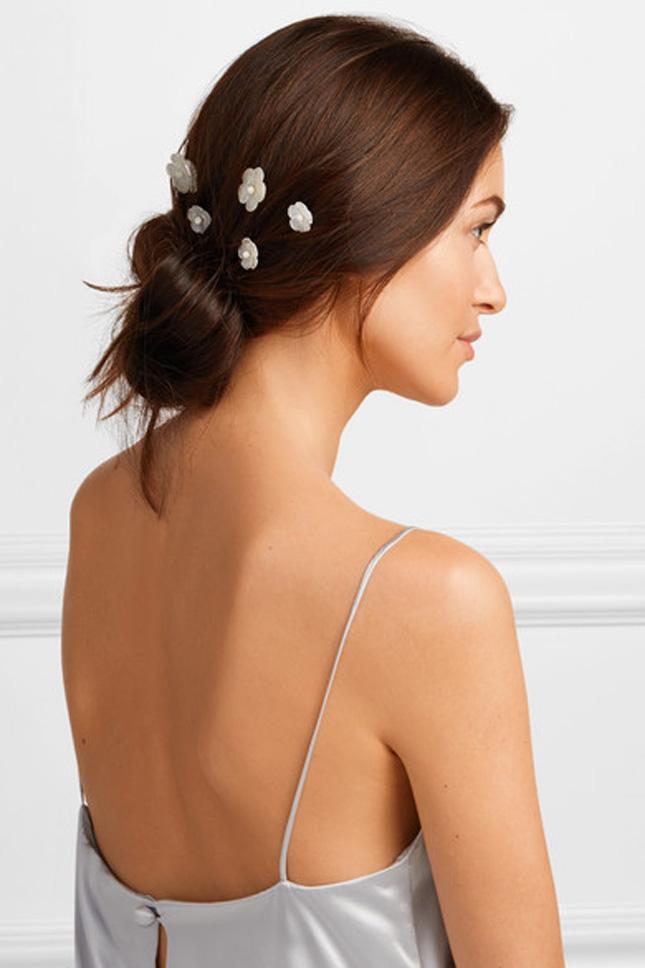 Wedding hair clips
