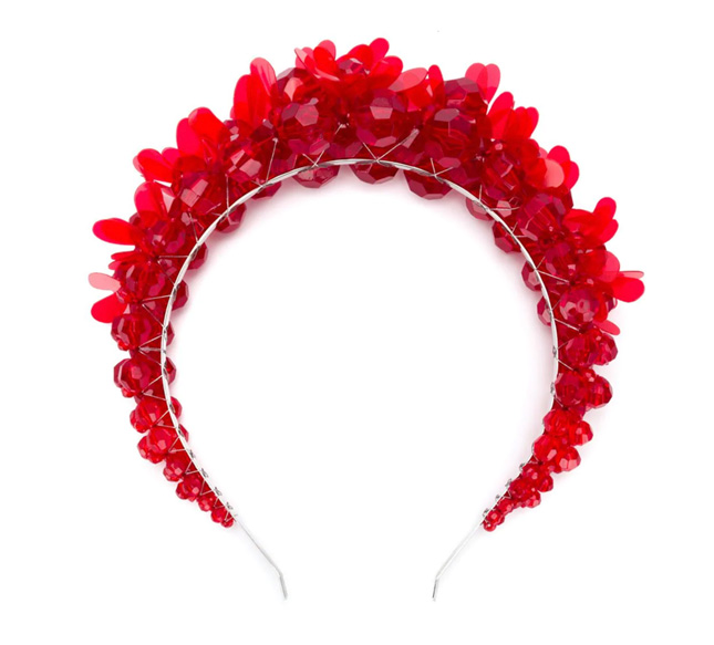 Alternative wedding headpiece