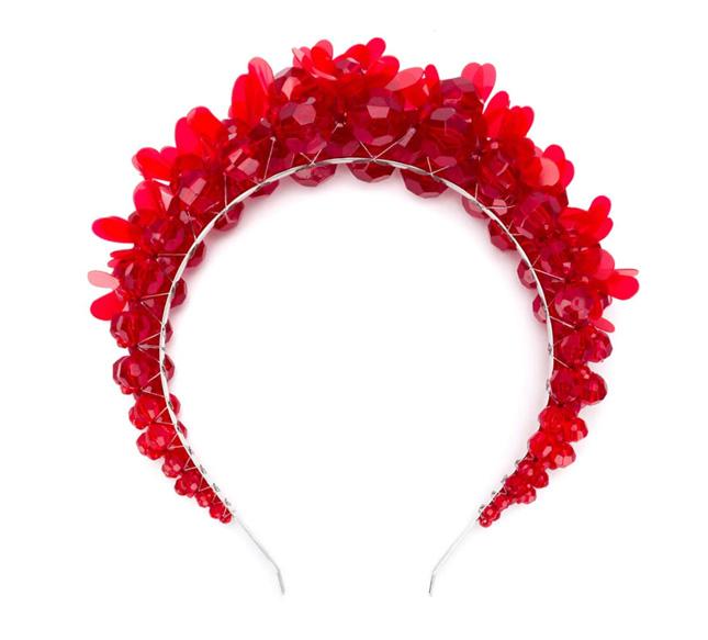 Alternative wedding headpiece
