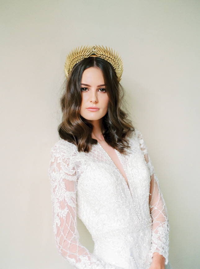 Davina Lynch headpiece wedding