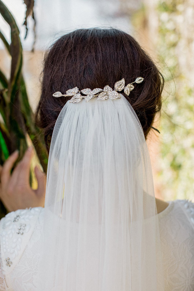 crystal hair clips wedding