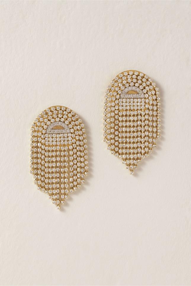 art deco earrings for wedding