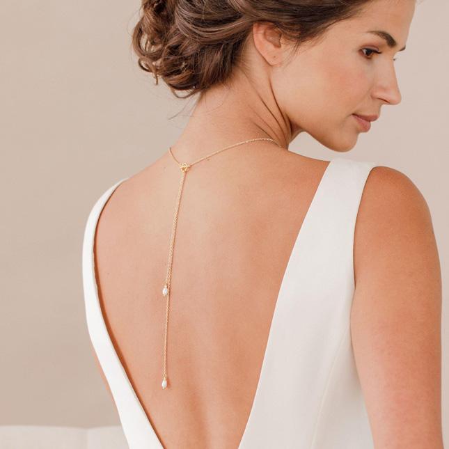 wedding accessories back chain