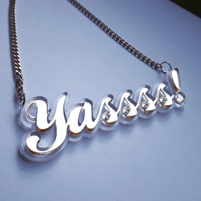 yassss necklace