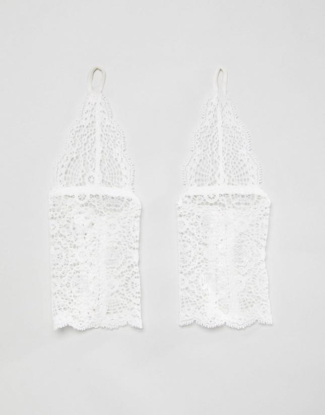 wedding cuffs lace