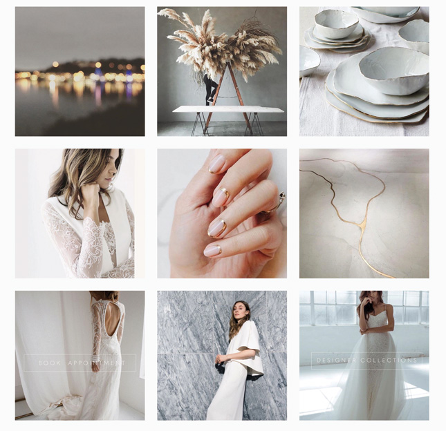 The White & Gold bridal boutique