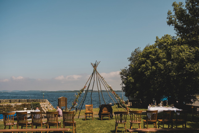 outdoor wedding festival