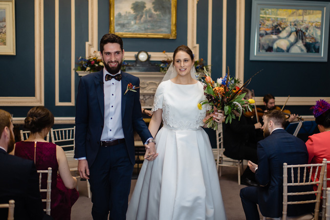 Stephen's Green Hibernian Club wedding