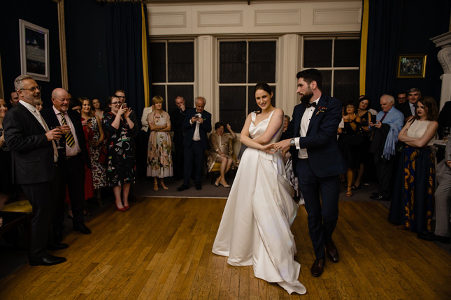 Stephen's GreenHibernian Club wedding