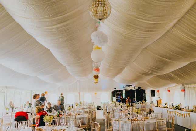 Drumhalla House marquee wedding