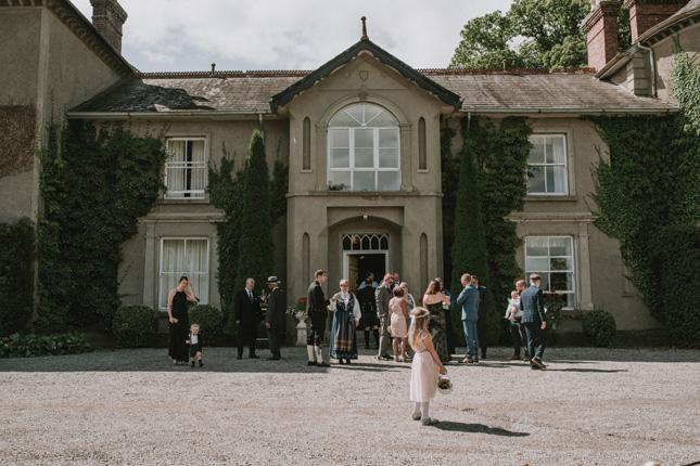 bansha castle wedding