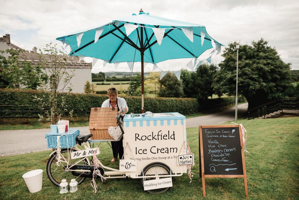 food trucks wedding ice cream