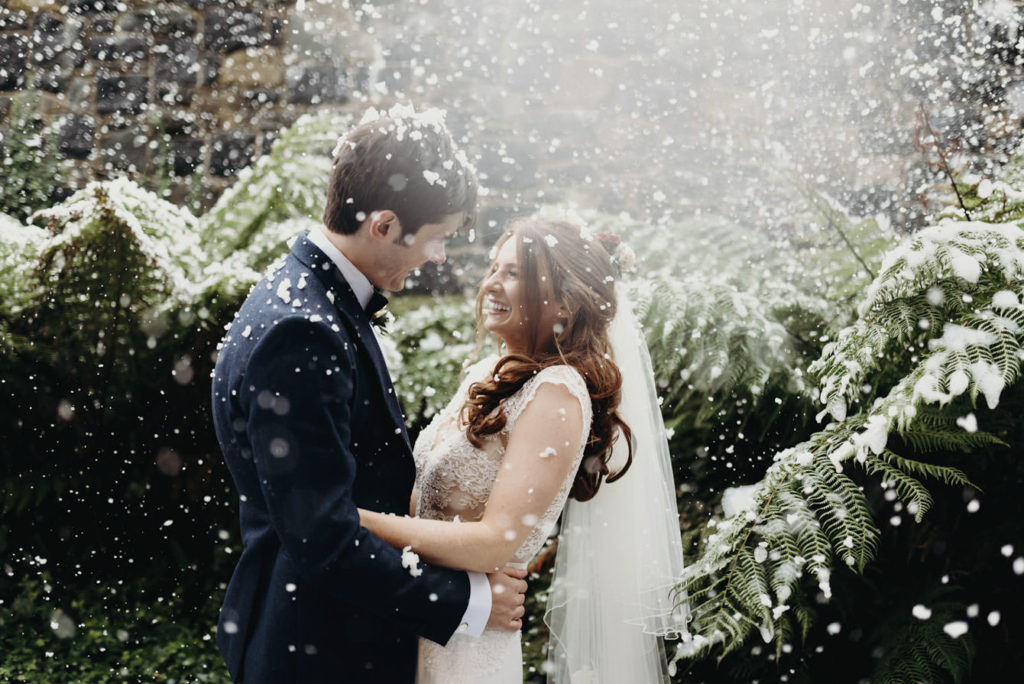 winter wedding timeline