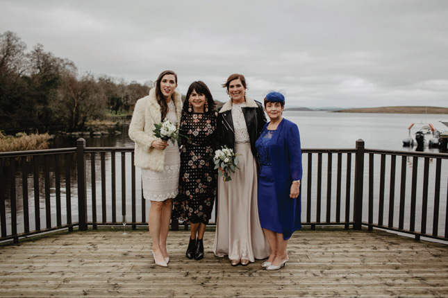 cosy winter wedding