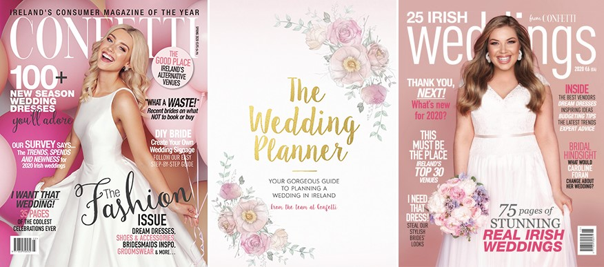confetti magazine the wedding planner